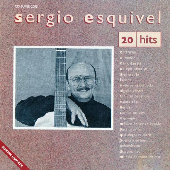 Esta imagen tiene un atributo ALT vacío; su nombre de archivo es 20-Hits-Sergio-Esquivel-Portada.jpg