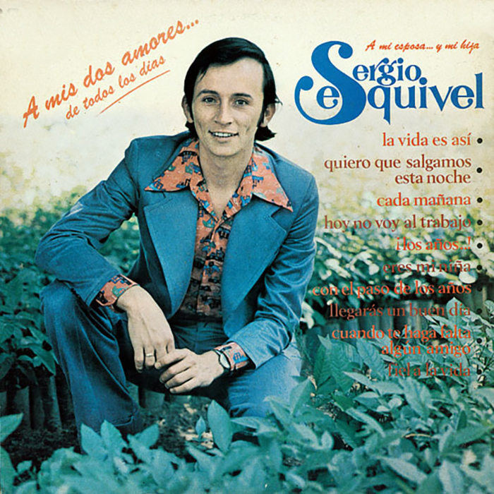 Sergio Esquivel A Mis Dos Amores Portada 1975